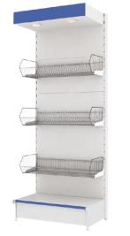 Металлические горки стандартной комплектации